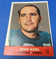 1968 Topps Football Stand-up #7  JOHN HADL / CHARGERS