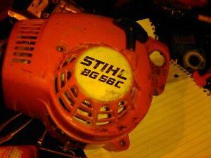 Stihl BG56C pull start/ front cover.