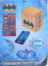 Party Favors BATMAN UTILTY BELT KITS Birthday Loot Bag Filler 4 Pack