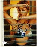 NATASHA HENSTRIDGE SIGNED JSA CERTIFIED 8X10 PHOTO AUTHENTICATED AUTOGRAPH