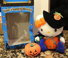 RARE New Hello Kitty 2000 Halloween Limited Plush Sanrio Japan Stuffed Animal