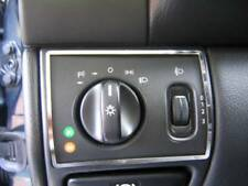 D Mercedes CLK W208 Chrom Rahmen für Lichtschalter - Edelstahl poliert
