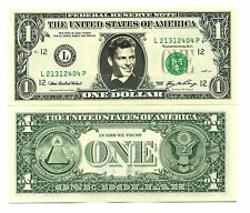 FRANCK SINATRA - VRAI BILLET de 1 DOLLAR US ! Collection Crooner Rat Pack Mafia