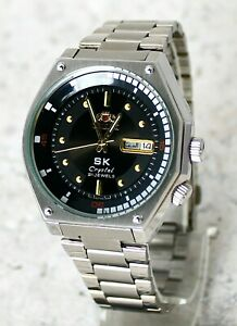 💥NEW Watch ORIENT Sea King SK AUTOMATIC King Diver KD ORIGINAL JAPAN BLACK Dial