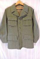 Ornklader VTG Military Coat Men's MEDIUM Wool PRISTINE Authentic Swiss Army WWII