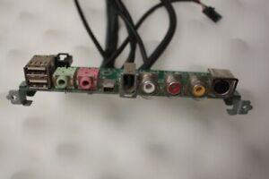 Advent T9404 USB Audio Firewire Video Port Panel MS-4019
