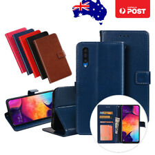 Leather Wallet Flip Case Cover For Samsung Galaxy A20/A30 A50 A70 With Card Slot