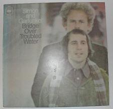 SIMON AND GARFUNKEL BRIDGE OVER TROUBLED WATER CBS ORANGE LABEL VINYL LP 1970