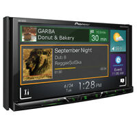"New Pioneer Double 2 Din AVH-600EX DVD/CD Player 7"" Bluetooth SiriusXM AUX USB"