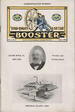 Brochure de présentation de l'entreprise Booster. Nombreuses photos de  (...)