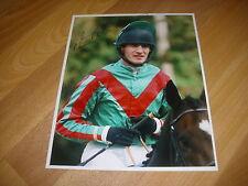 Norman Williamson horse racing NH jockey 10/10/97 main Photo de presse signé