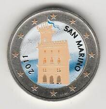SAINT-MARIN 2011 - 2 EURO couleur - Domus Magna