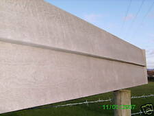 WOOD-FACED TIMBER-LAP CONCRETE GRAVELBOARDS/FENCE PANELS/CONCRETE POSTS/FENCING