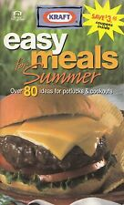 EASY MEALS FOR SUMMER KRAFT COOKBOOK SNACKS, SALADS, POTLUCK RECIPE, DESSERTS