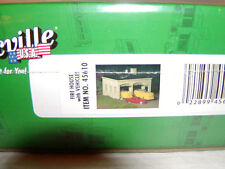 Bachmann 45610 Plasticville Kit Fire House w Vehicles O 027 MIB New this is Kit