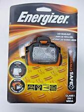 NEW!! ENERGIZER LED HEADLIGHT INTRINSICALLY SAFE BATTERIES NOT INCL. MSHD31BP