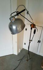 Retro Mid Century Angle Poise Floor Lamp. Stylish Vintage Industrial Lighting