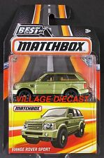 2017 Matchbox Best of (Land Rover) Range Rover Sport COLIMA LIME METALLIC/MOC