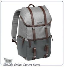 Manfrotto Windsor Lifestyle Backpack for DSLR & Laptop (Gray) Mfr # MB LF-WN-BP