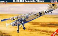 Fieseler Fi-156 C-3 Rommel's Stork Polen Switzerland Soviet 1:72 Model Kit Set