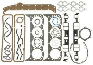 Victor Rienz Chevy 265 283 302 307 327 350 Full Gasket Set Head+Intake 1957-79