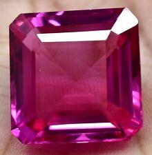 61.30 Ct Natural Mogok Pink RUBY Emerald Cut AGSL Certified Stunning Gemstone !!