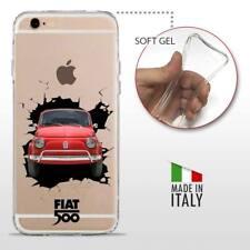 iPhone 6 Plus 6S Plus TPU CASE COVER PROTETTIVA TRASPARENTE VINTAGE 500 Crash