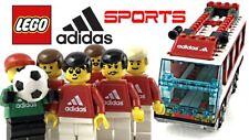 LEGO Sports Soccer Set 3426 Team Transport Bus Adidas Edition - New - No Box -