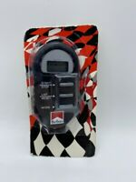 NEW VINTAGE MARLBORO RACING STOPWATCH STOP WATCH IN PACKAGE PROMO