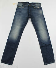 BRAND NEW DIESEL POIAK 880E JEANS 31X34 0880E REGULAR SLIM FIT TAPERED LEG