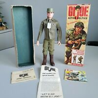 Vintage GI Joe 1964 Action Soldier #7500 with Box TM Stamp Hasbro