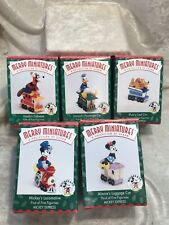 Hallmark Merry Miniatures Mickey Express Christmas Locomotive Train
