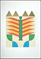 """Joe TILSON - """"Xanadu"""", 1975 - Serigrafia, 70 x 100 cm"""