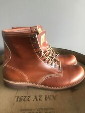 Men's Thorogood Tomahawk Cognac 33191-9101 Leather Lace Up Boots USA