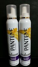 2X  Pantene Pro-V VOLUME Triple Action Mousse MAXIMUM HOLD 6.6 oz