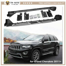 2Pcs Fit for Jeep Grand Cherokee 2011-2020 Side Step Running Board Nerf Bar