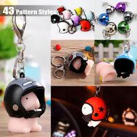 Soft Mochi Dingding Squishy Key Chain Helmet Squeeze Abreact Healing Joke Toys