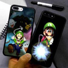Luigi's Mansion Mario Silicone Phone Case Cover For iPhone Samsung Galaxy