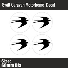SWIFT Caravan Motorhome | Wheel Centre | Sticker-Decal | FREE POST | (BB204)