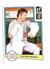 Clayton Kershaw 2016 PANINI DONRUSS, 1982 diseño, Baseball cartas