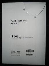 NEW Ricoh PostScript3 Type M2 416657 D719-10 MP C6502SP C8002SP