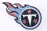 TENNESSEE TITANS, Pin, Brooch, Bling, SPARKLE & SHINE, NFL Football