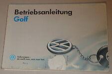 Instrucciones Servicio VW Golf 3/ III Stand 1992