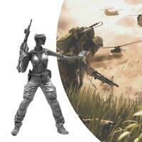 1:35 Resin Figure Model US Army Special Forces Female kit Soldier Scene SII K5W6