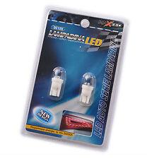 2 LAMPADINE LED T10 12V LUCE BIANCA POSIZIONE AUTO TARGA 20000 ORE FRENO
