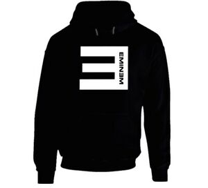 Funny Black E Logo  Hoodie