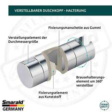 Duschkopf Halterung Handbrausehalterung für die Stange Ø verstellbar