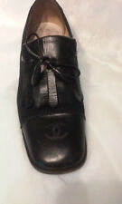 "Chanel Bow Tassel Oxford Shoes 1.5"" Heel,  Size 8.5"