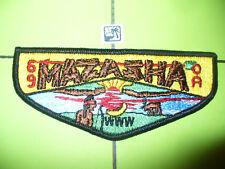 OA Mazasha Lodge 69,S1,1960s Indian,Moose Flap,MTZ,53 Wapaha,TOUGH!,Minnesota,MN