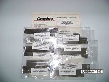 BOHNING, GRAYLING, AAE, ARROW BOLT FLETCHING JIG RELEASE TAPE 8 PIECES 2/4 PACK